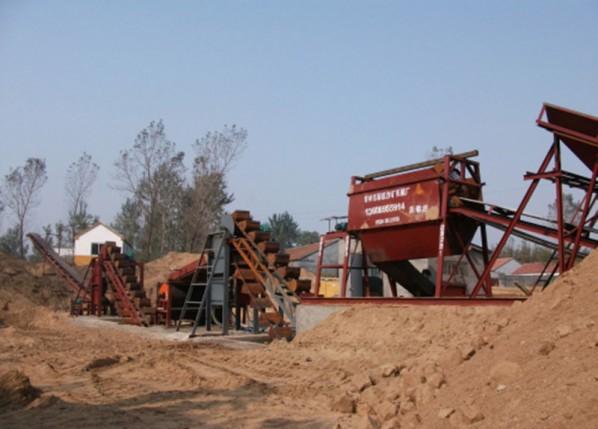 洗沙生产线