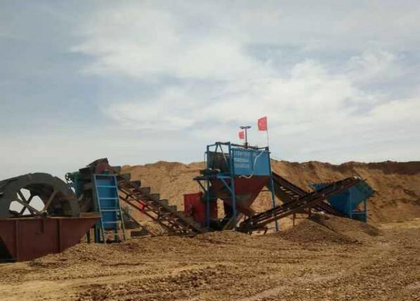 风化沙制砂机