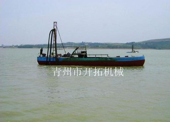 自卸运沙船