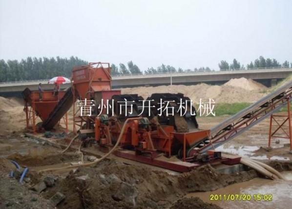 风化砂制沙设备